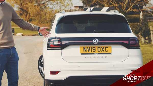 The VW T-Cross features a rear light design that's not expected of a budget SUV.