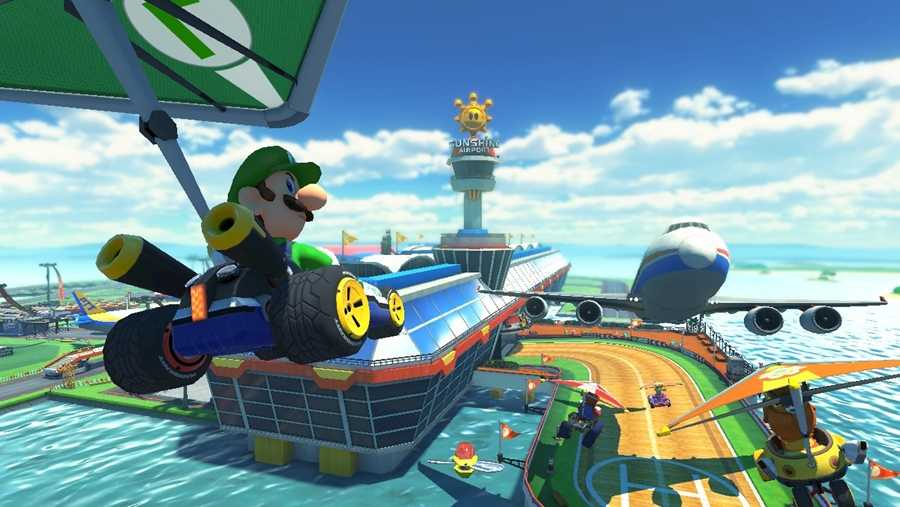 Mario Kart 8 Deluxe - a must-have driving game