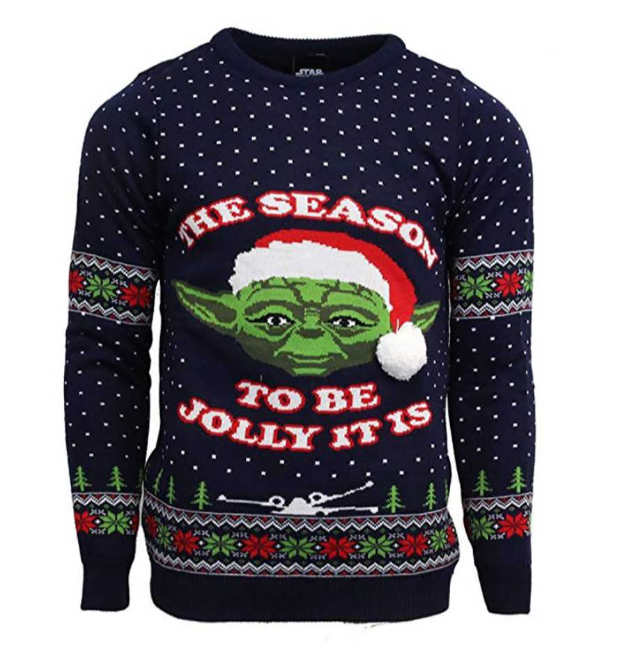 Yoda Christmas Jumper