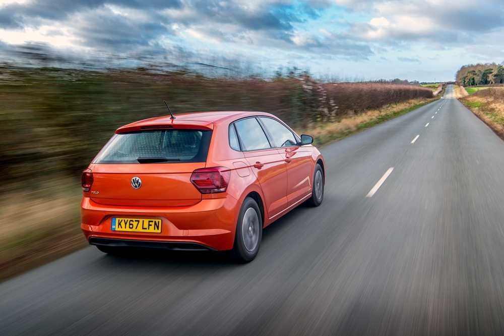 The VW Polo is now lower and wider than the previous model