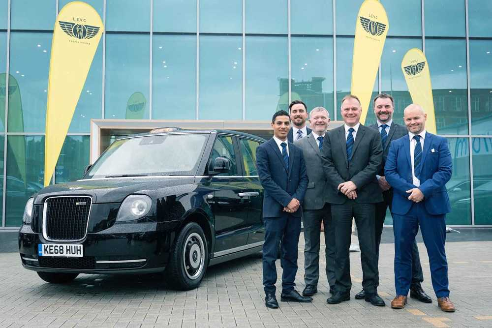 Lookers announces its second partnership with LEVC, the electric taxi firm