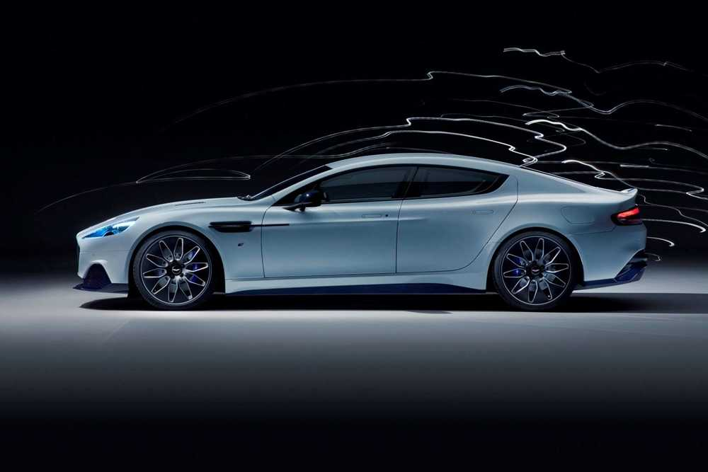 The Rapide E is Aston Martin's first all-electric car, with 600bhp and a range of more than 200 miles