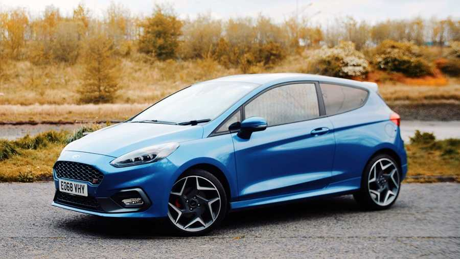 The Fiesta ST, a performance car with a conscious