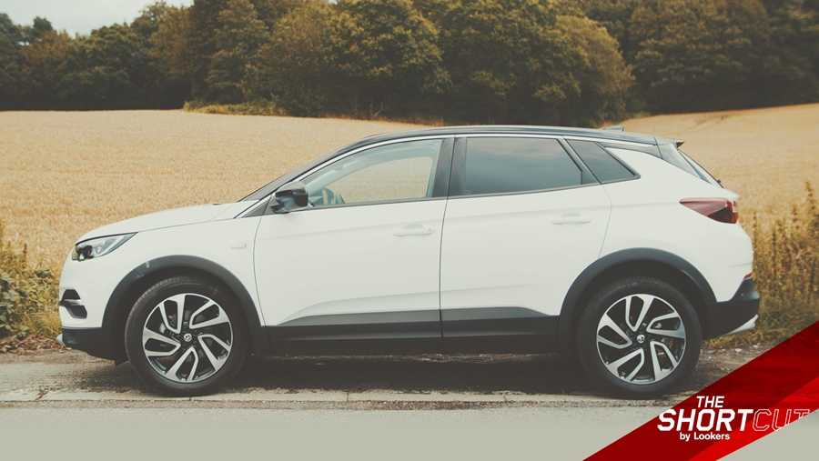 The Grandland X looks better than a lot of alternatives, especially in the higher trims