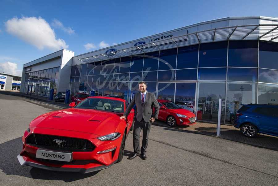 The reopening of Lookers Ford Middlesbrough