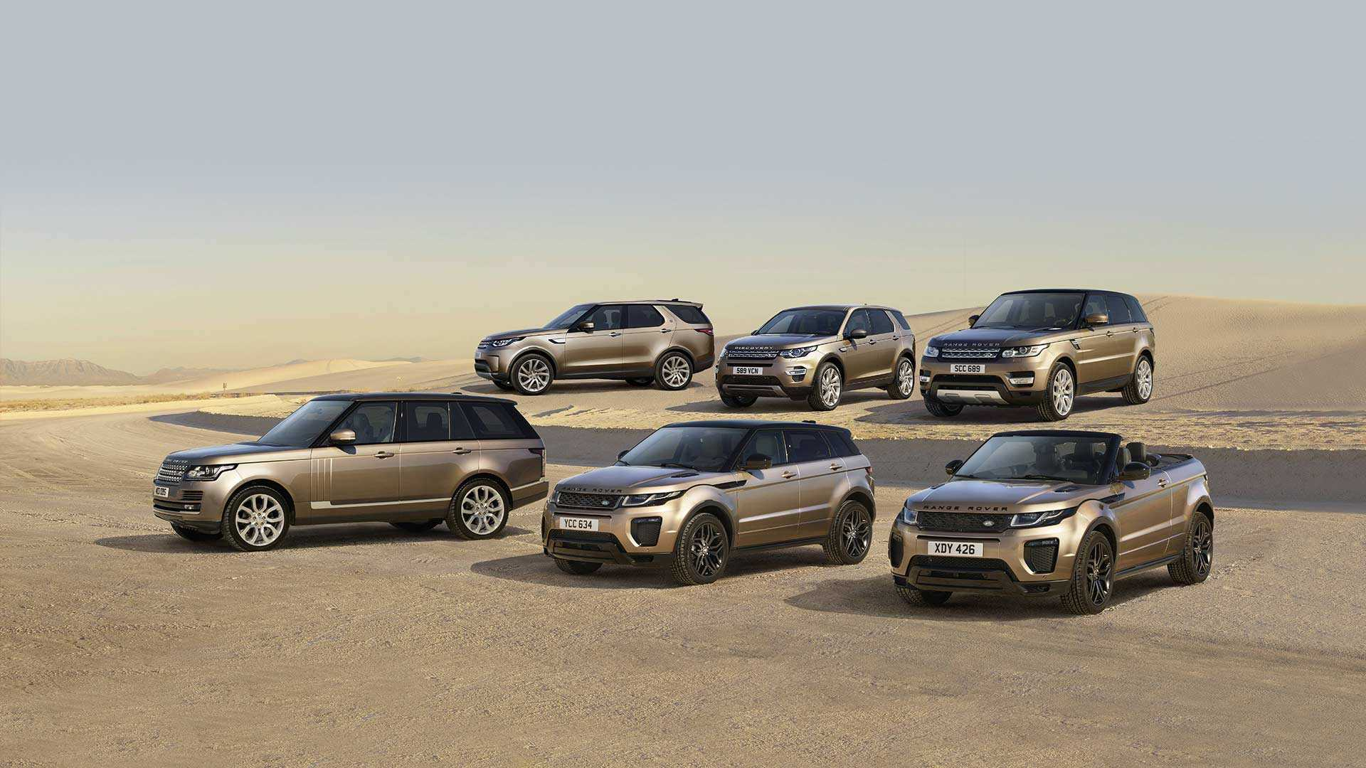 Used Land Rover and Range Rover for sale at Lookers