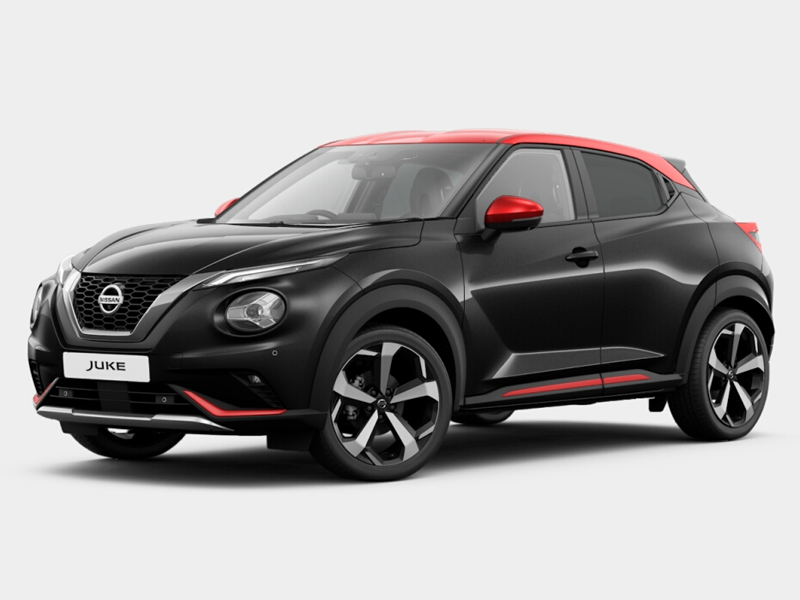The new Nissan Juke Premiere Edition, featuring exclusive styling