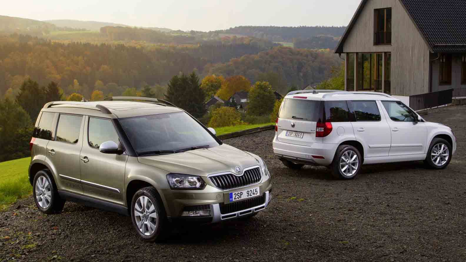 Used Skoda Yeti Outdoor For Sale At Lookers
