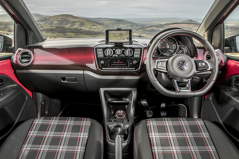 Volkswagen UP GTI Interior