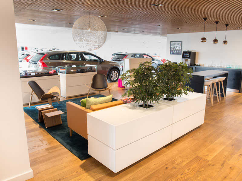 Stoke Volvo Showroom