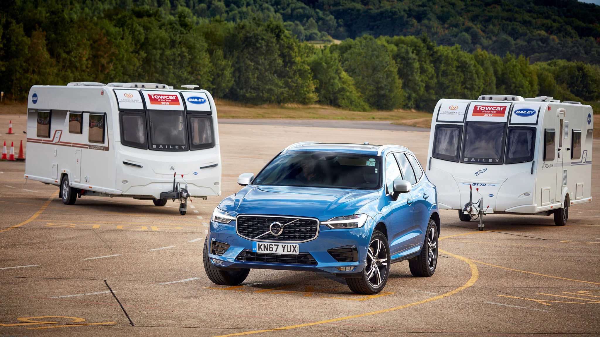 cd235ab185 XC60 takes Towcar of The Year title as Volvo enjoys quadruple success in  Caravan and Motorhome Club Awards