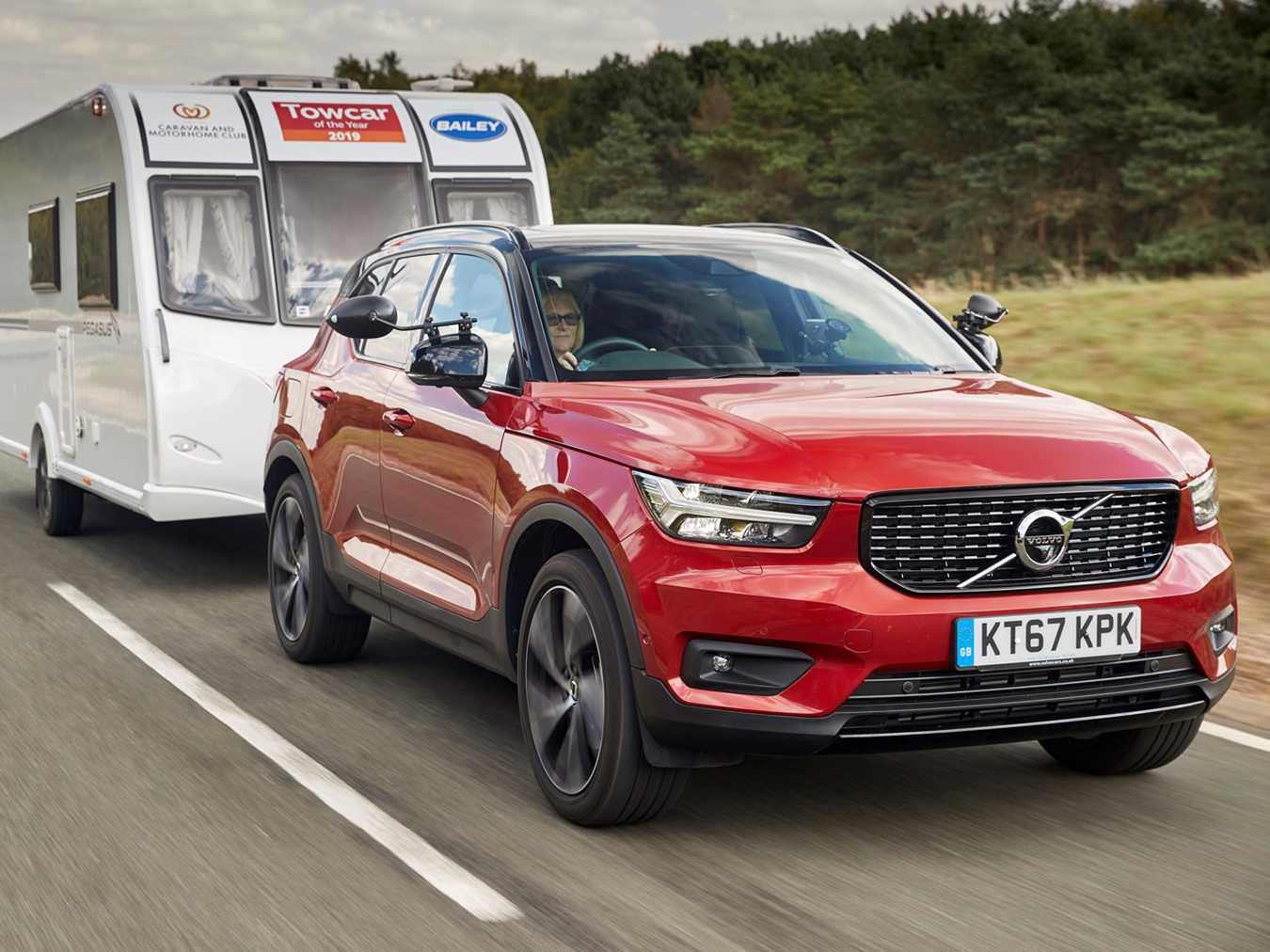 XC60 takes Towcar of The Year title as Volvo enjoys