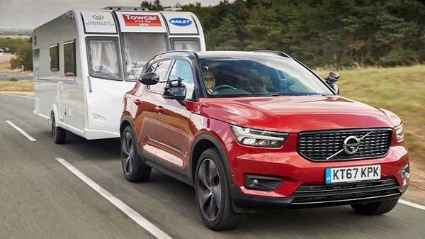 XC60 towcar of the year 2019